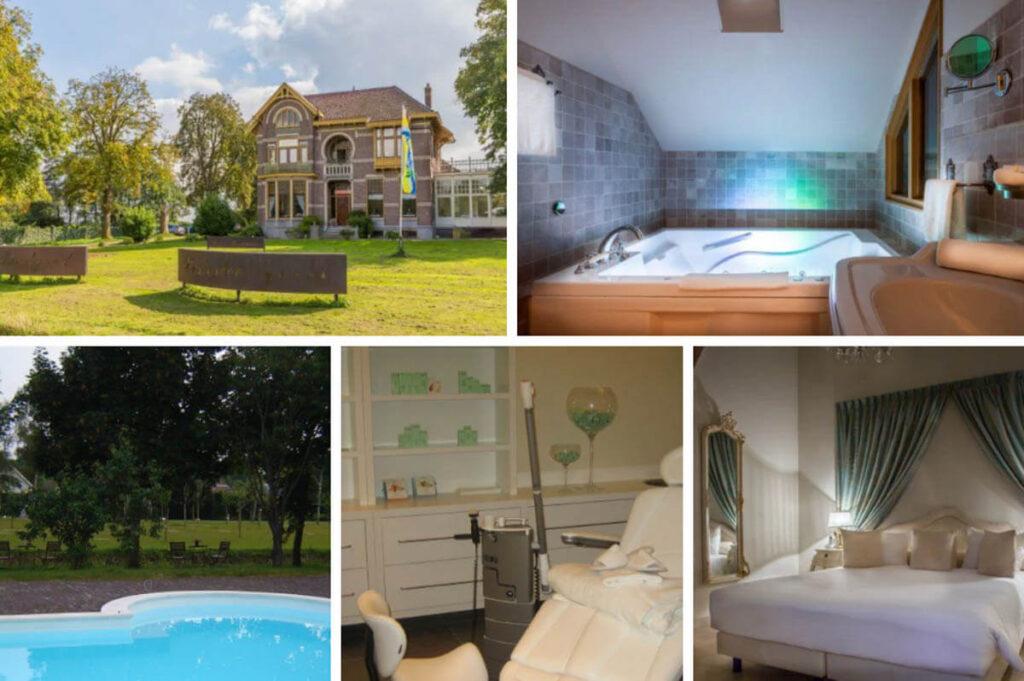 Hotel met bubbelbad op kamer in Groningen