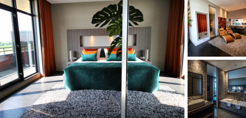 Suite met prive sauna op kamer - Middelburg