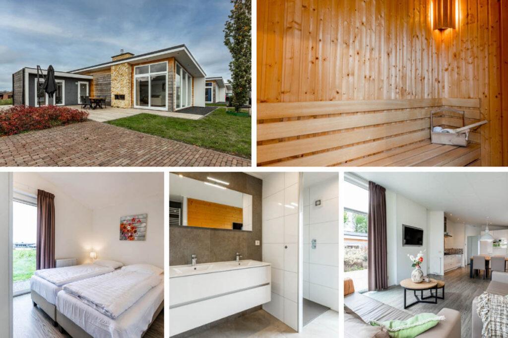 Huisje met Finse sauna Limburg - Green Resorts Mooi Bemelen