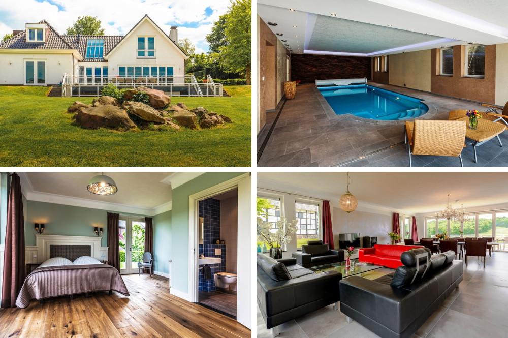 Vakantiewoning met binnenzwembad en sauna - Zuid Limburg