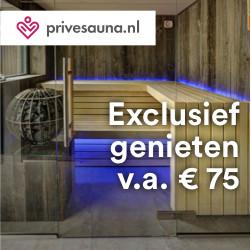 Prive sauna Nederland banner