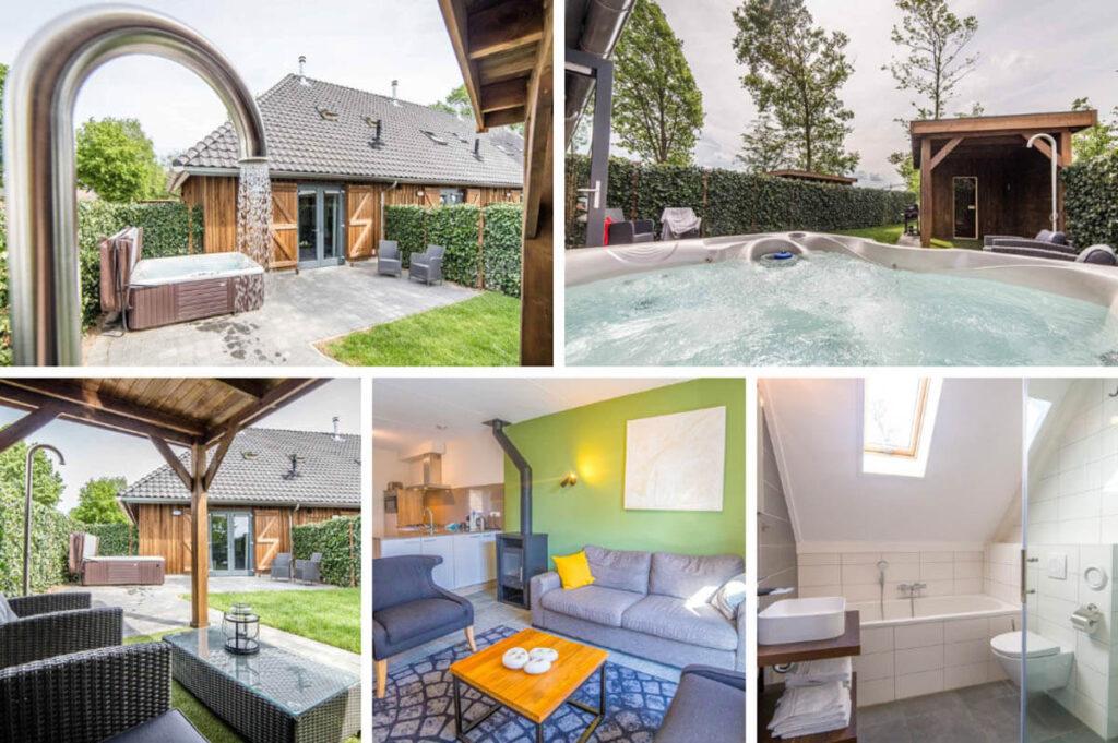 Vakantiehuis met bubbelbad en sauna buiten - Dormio Resort Maastricht