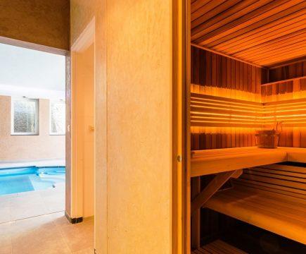 Vakantiehuizen met zwembad en sauna