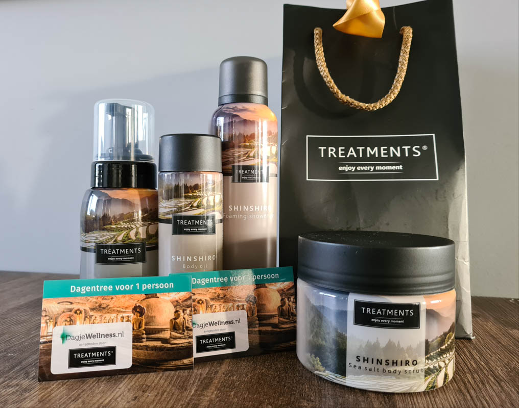 Wellness Giftbox vanTREATMENTS