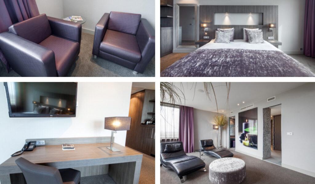 Hotelkamer met Finse sauna en bubbelbad Dordrecht