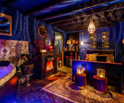 Privé sauna's met vakantie thema