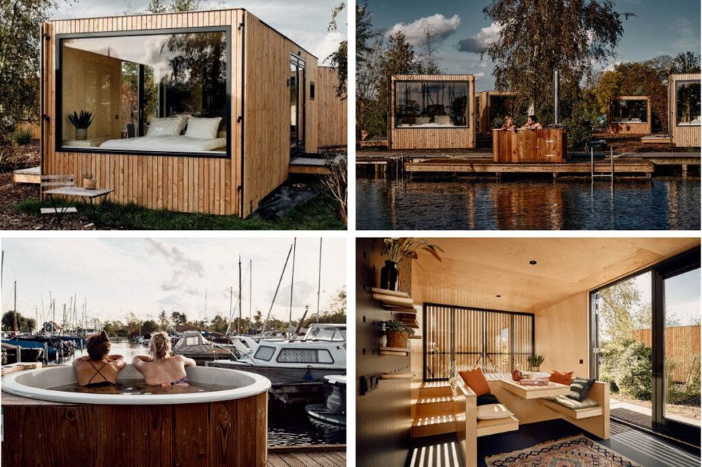 Tiny House met hottub Utrecht
