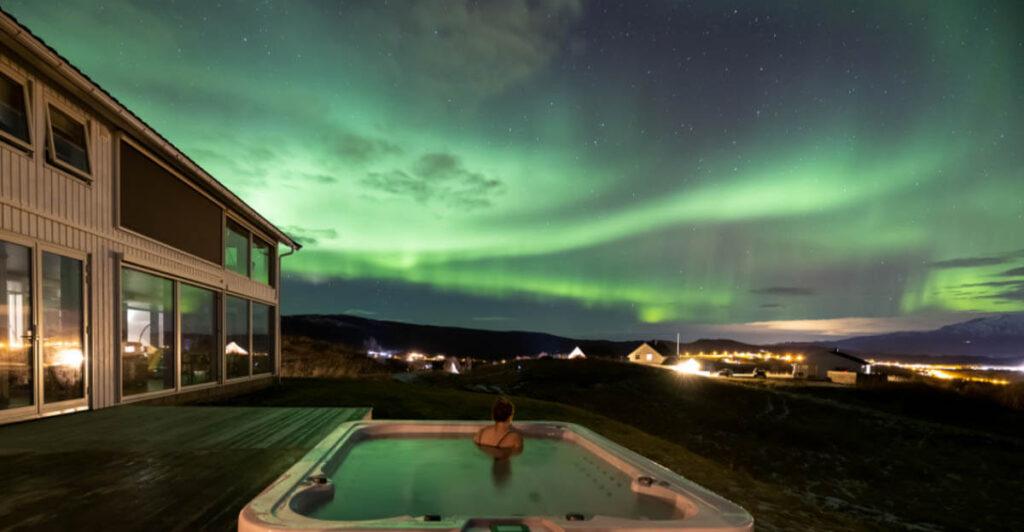 Aurora Borealis Observatory Holiday Resort in Noorwegen