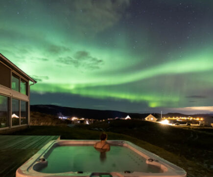 Aurora Borealis Observatory Holiday Resort in Noorwegen
