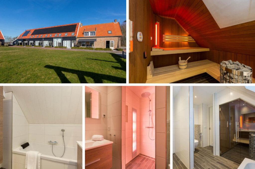 Wellness vakantiehuizen in Zeeland- De Grote Geere