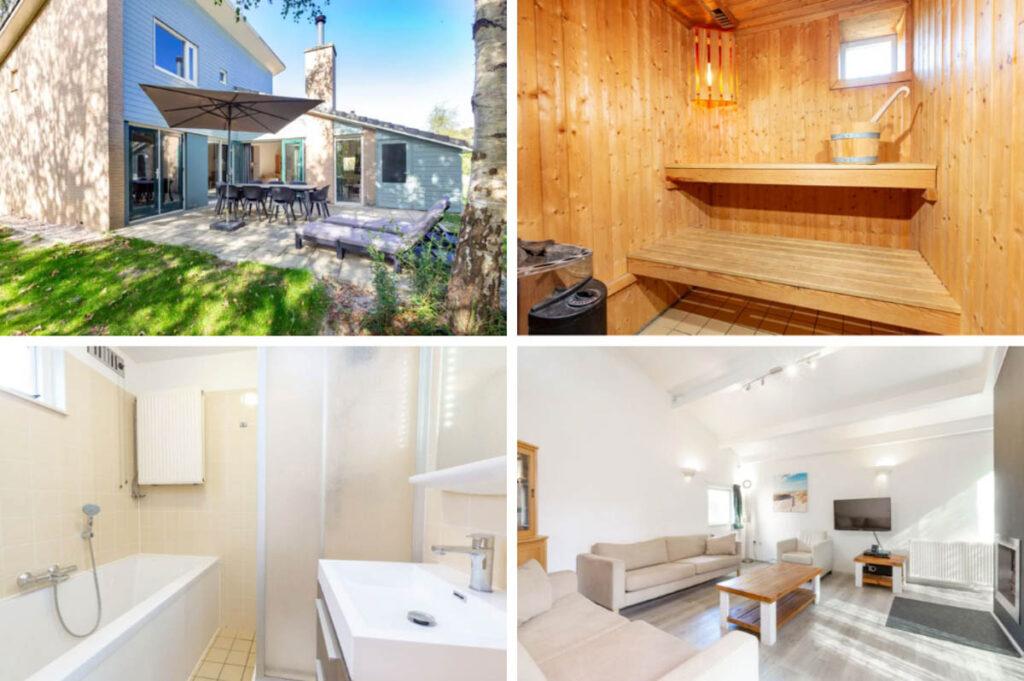 Roompot vakantiepark Kijkduin - Vakantiehuis Finse sauna