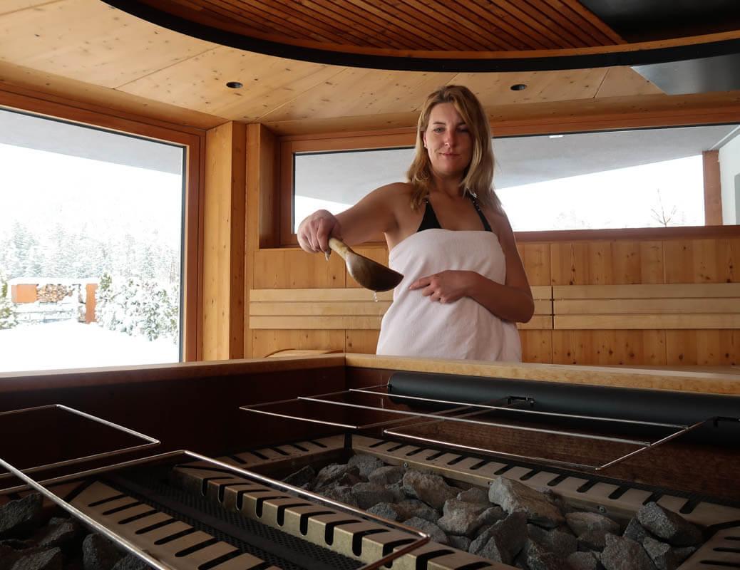 Tips voor thuis of in vakantiehuisje je sauna opgieten