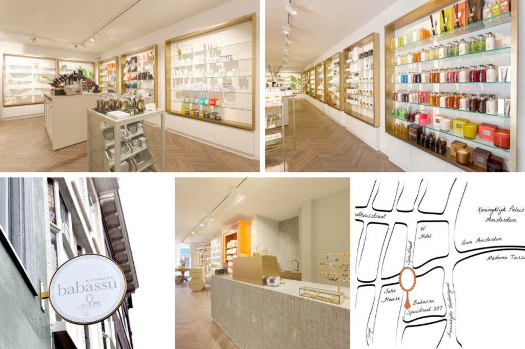 Beauty winkels in Amsterdam Centrum en Amsterdam Zuid