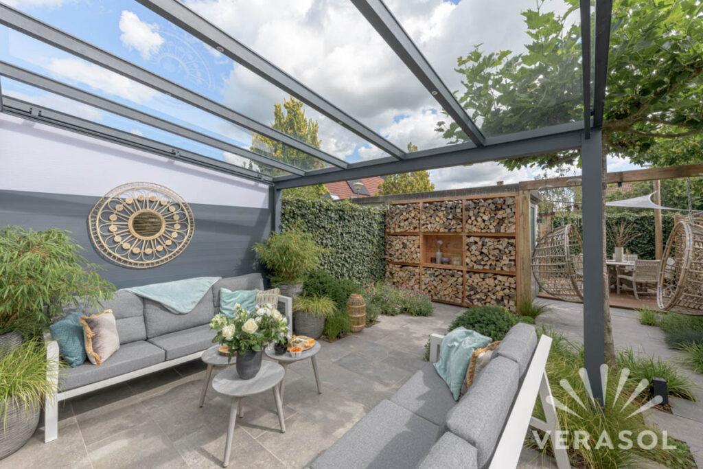 Meer leefruimte met terrasoverkapping of een tuinkamer