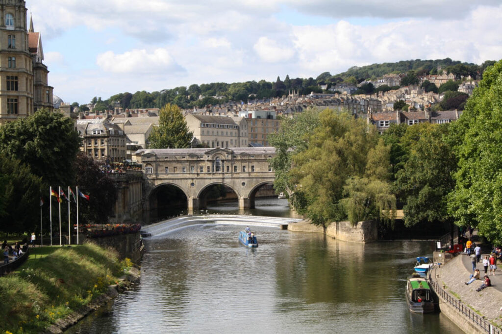 Reizen naar Bath Citytrip