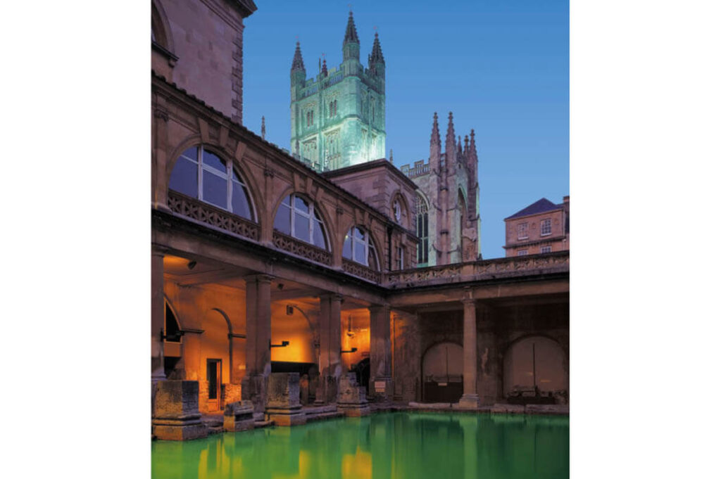 Romeinse baden in Bath