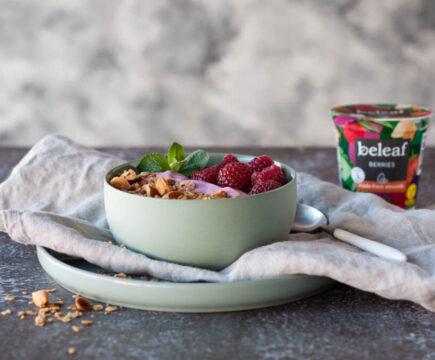 Vegan yoghurt van Beleaf bij Albert Heijn