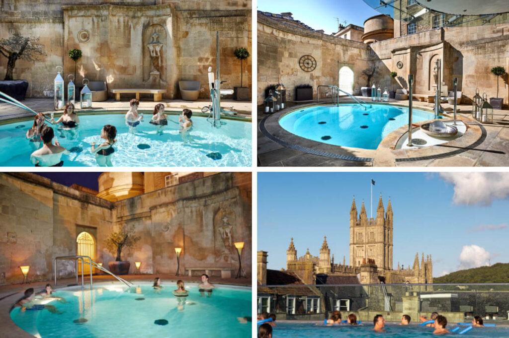 Thermae Bath Spa, baden in Natural Thermal Water