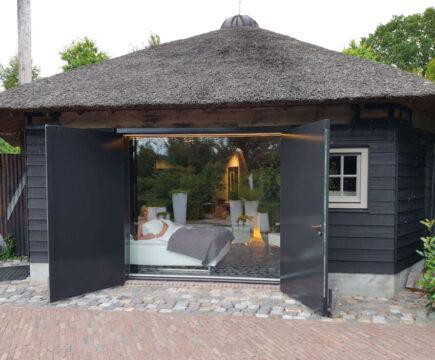 Prive sauna met overnachting
