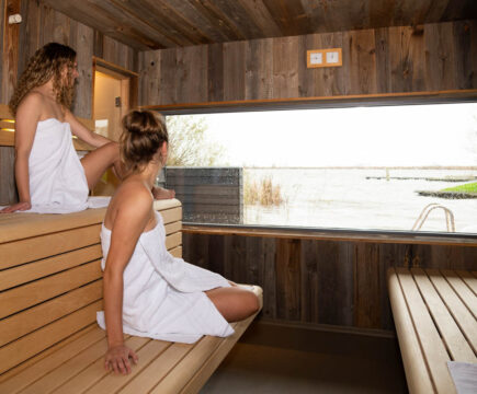 Beste privé sauna in Friesland - Pollepleats