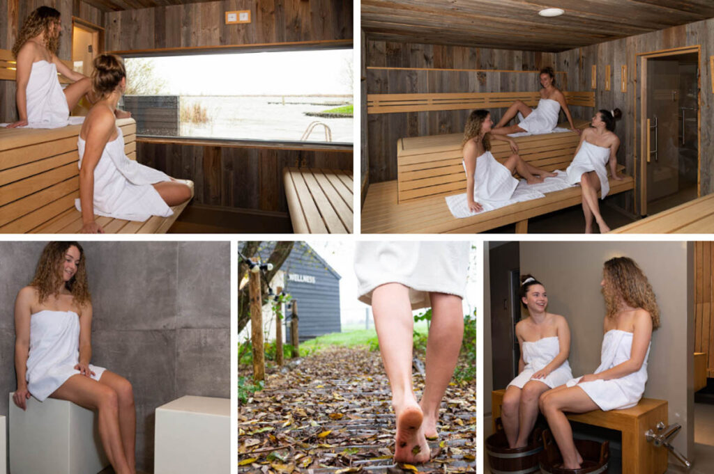 Beste privé sauna in Friesland - Pollepleats Wellness