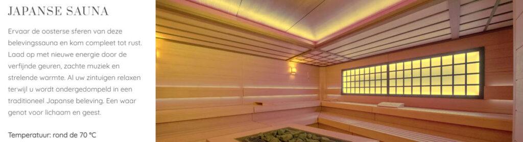 Japanse sauna - Spa Zuiver Amsterdam