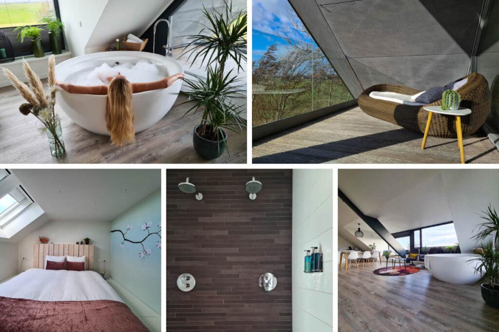 Luxe wellness suite in Friesland - Pollepleats