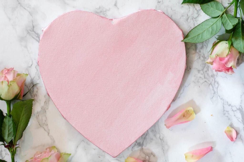Wellness producten in hartvorm