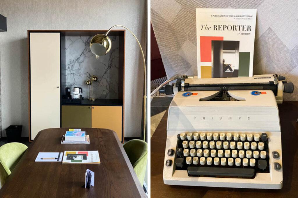 Hotelkamer als kantoor - Voor De Thuiswerkers