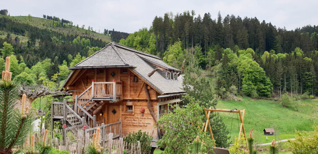 Sauna met uitzicht