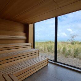 Sauna met uitzicht in Cadzand-Bad - Zeeland