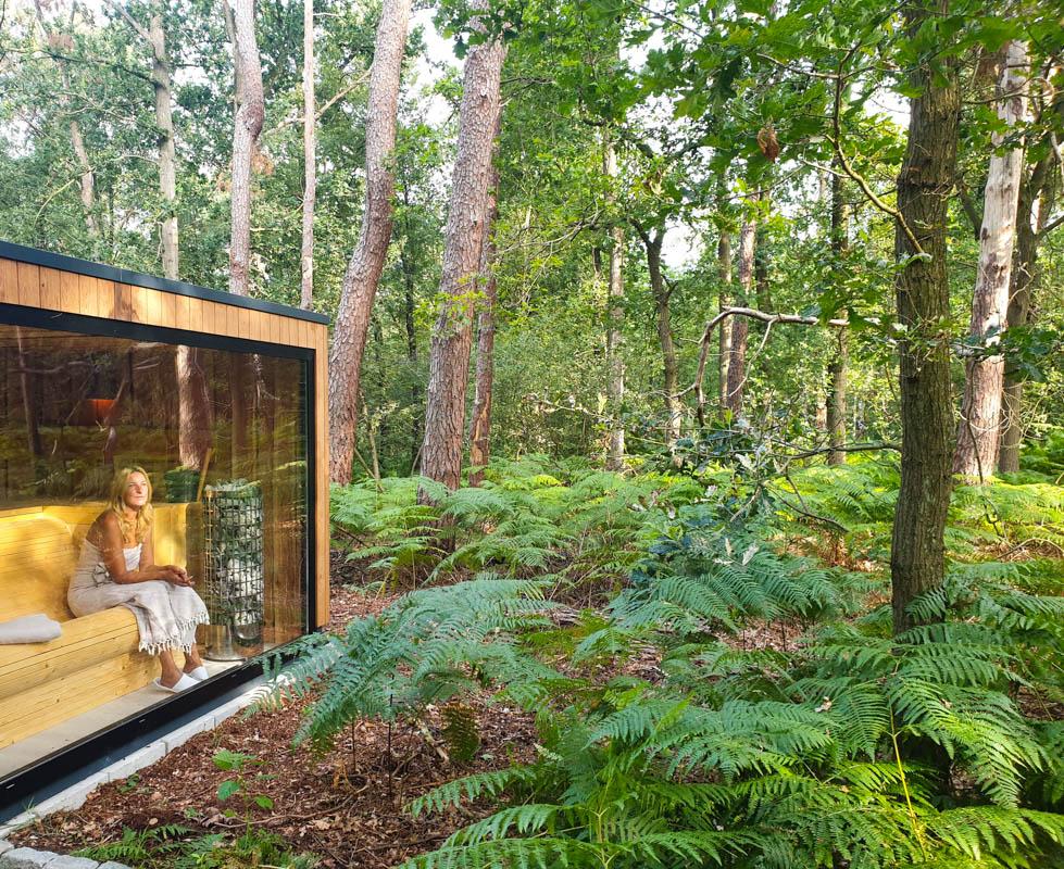 Sauna met mooi uitzicht in Nederland