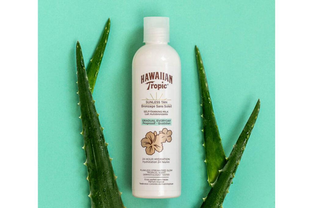 Hawaiian Tropic gradual tanning milk