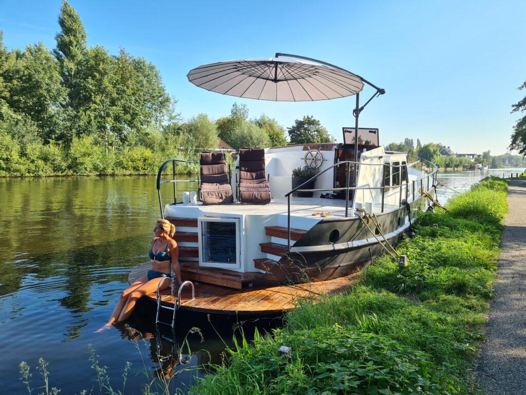 Wellnessboot in Bodegraven