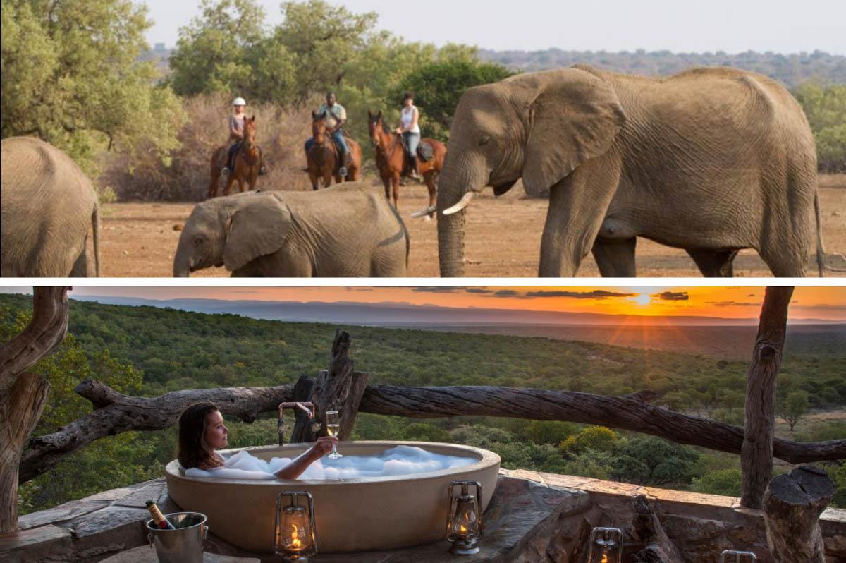 Paardrijden en Wellness reizen - Zuid Afrika
