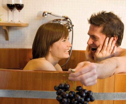 Badderen in wijn? Geniet hier van Wijn & Wellness!