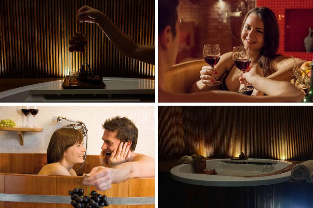 Wijn en Wellness Reizen - wijnbaden