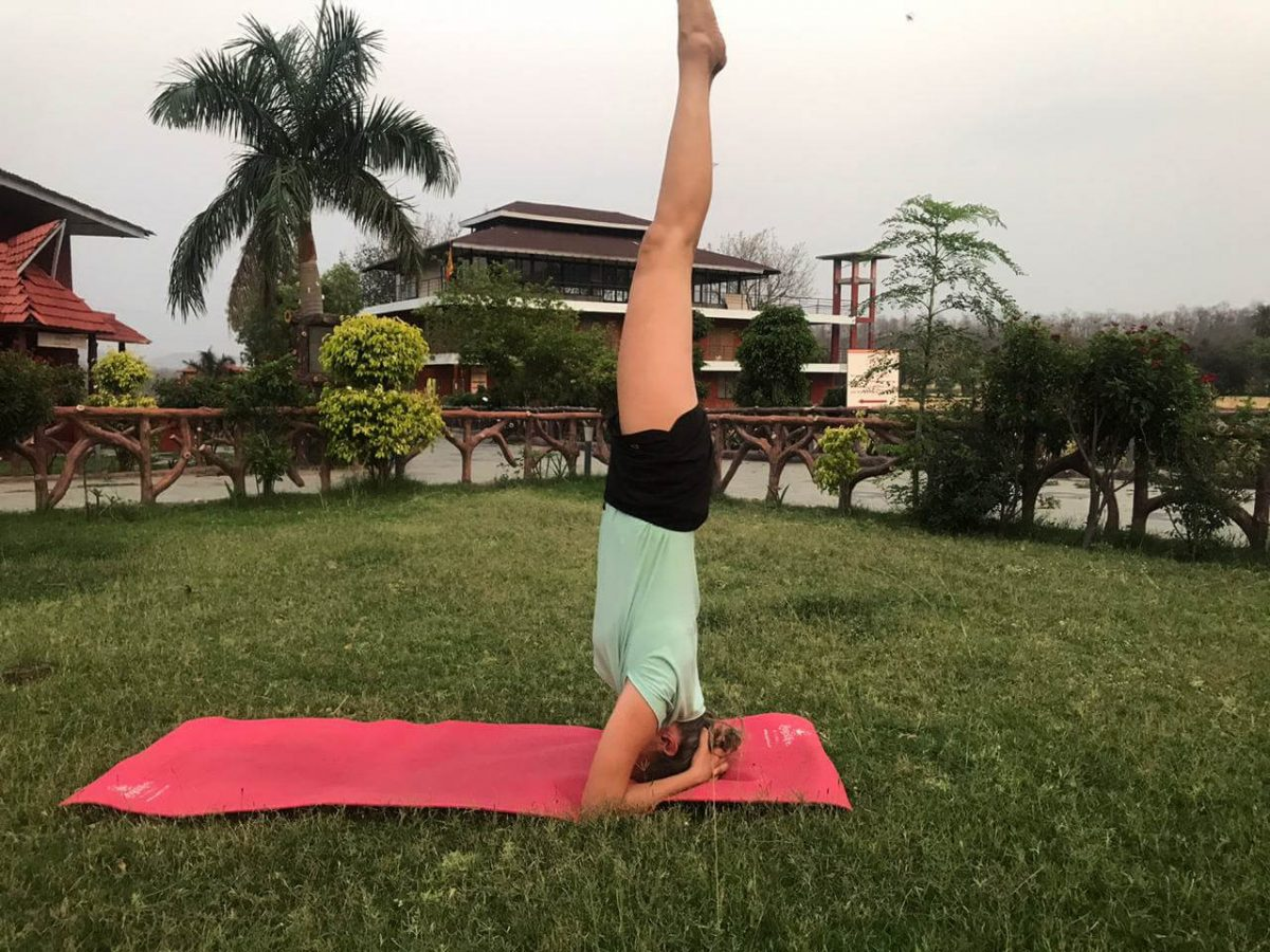 Yoga opleiding in India
