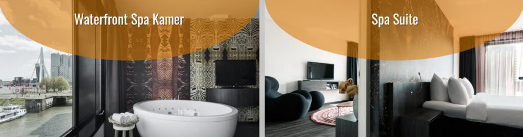 Hotel kamer met sauna in Rotterdam