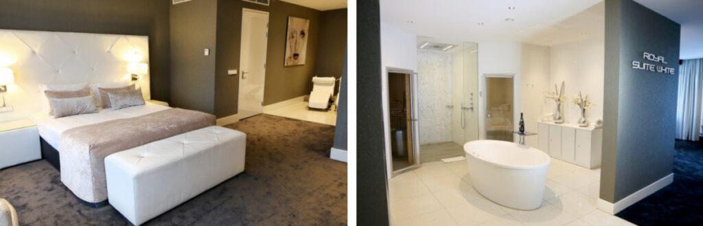 Hotel met sauna op kamer Almere