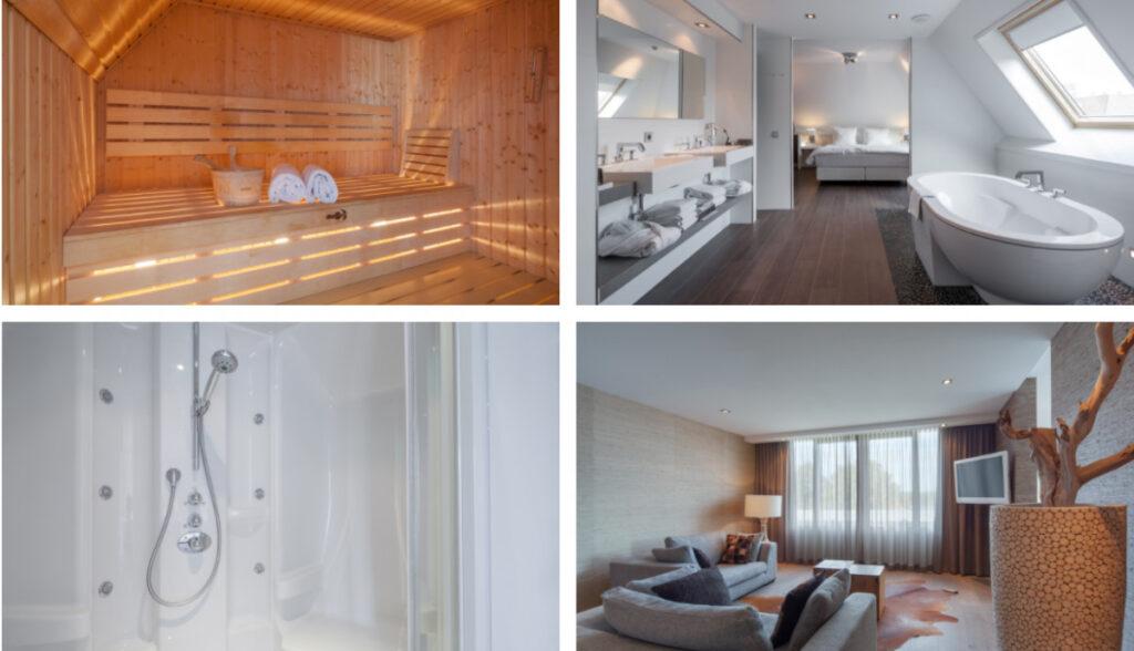 Hotel met sauna op kamer in Drenthe