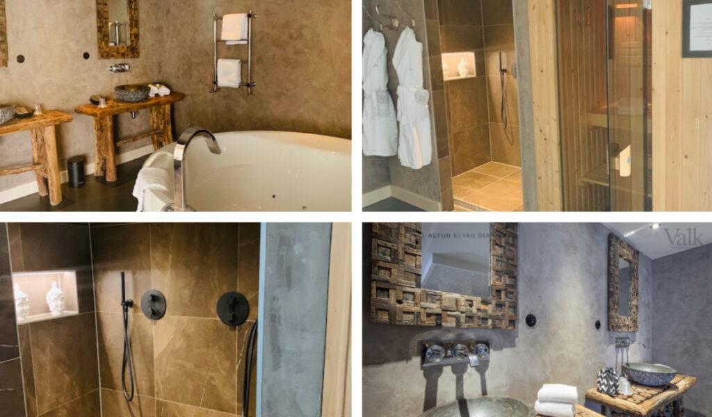 Hotel met sauna op kamer Nederland