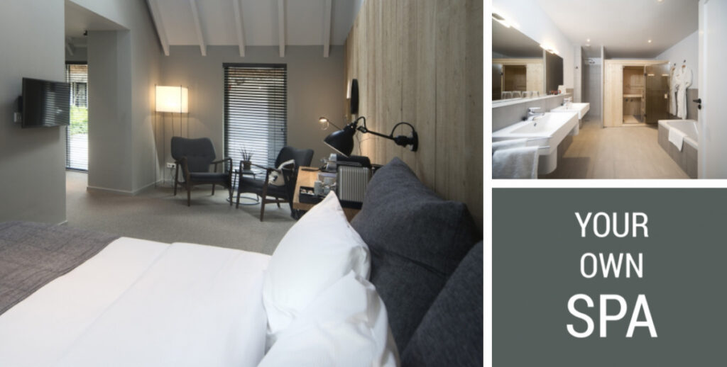 Suite met sauna - Mooi Rivier Dalfsen