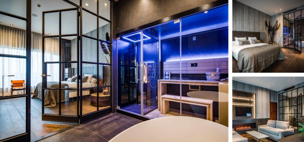 Hotel kamer met sauna in Overijssel