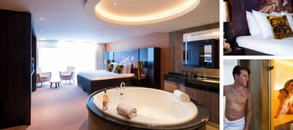 Hotel kamer met sauna Schiphol