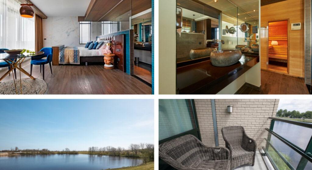 Hotel met sauna op kamer in Friesland