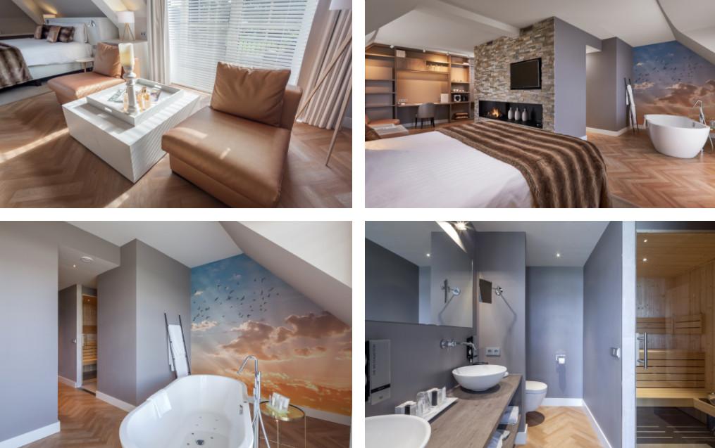 Suites met sauna op kamer in Groningen