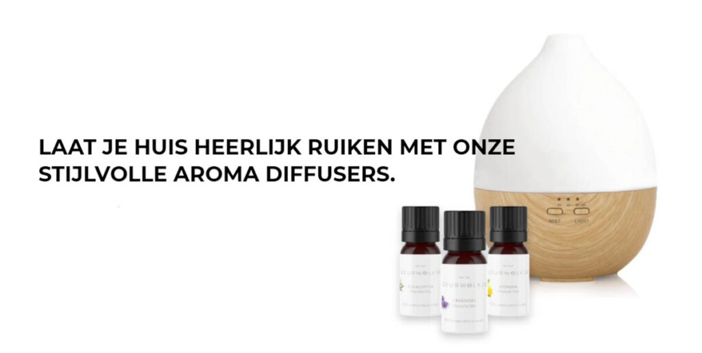 Aroma diffuser voor thuis