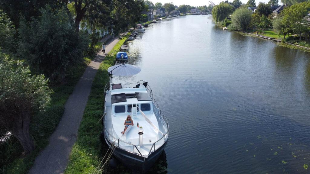 Luxe saunaboot De Omega Bodegraven