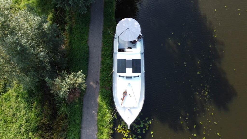 Saunaboot in Bodegraven